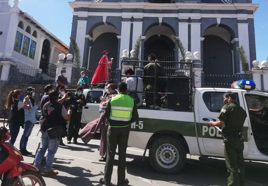 Policía lamenta actitud crítica tras la procesión del santo patrono San Roque en Tarija