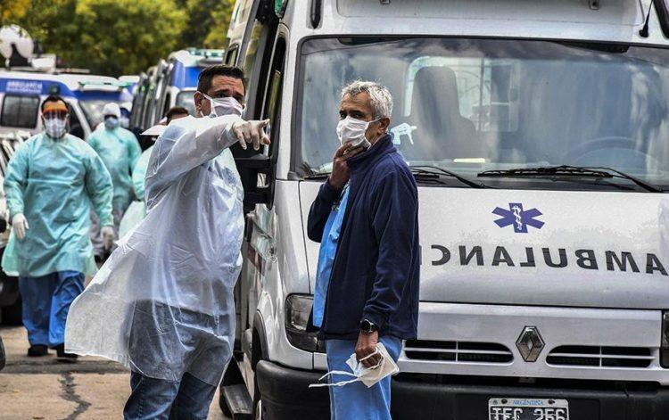 Coronavirus en Argentina: confirmaron 540 nuevas muertes y 15.920 contagios en las últimas 24 horas