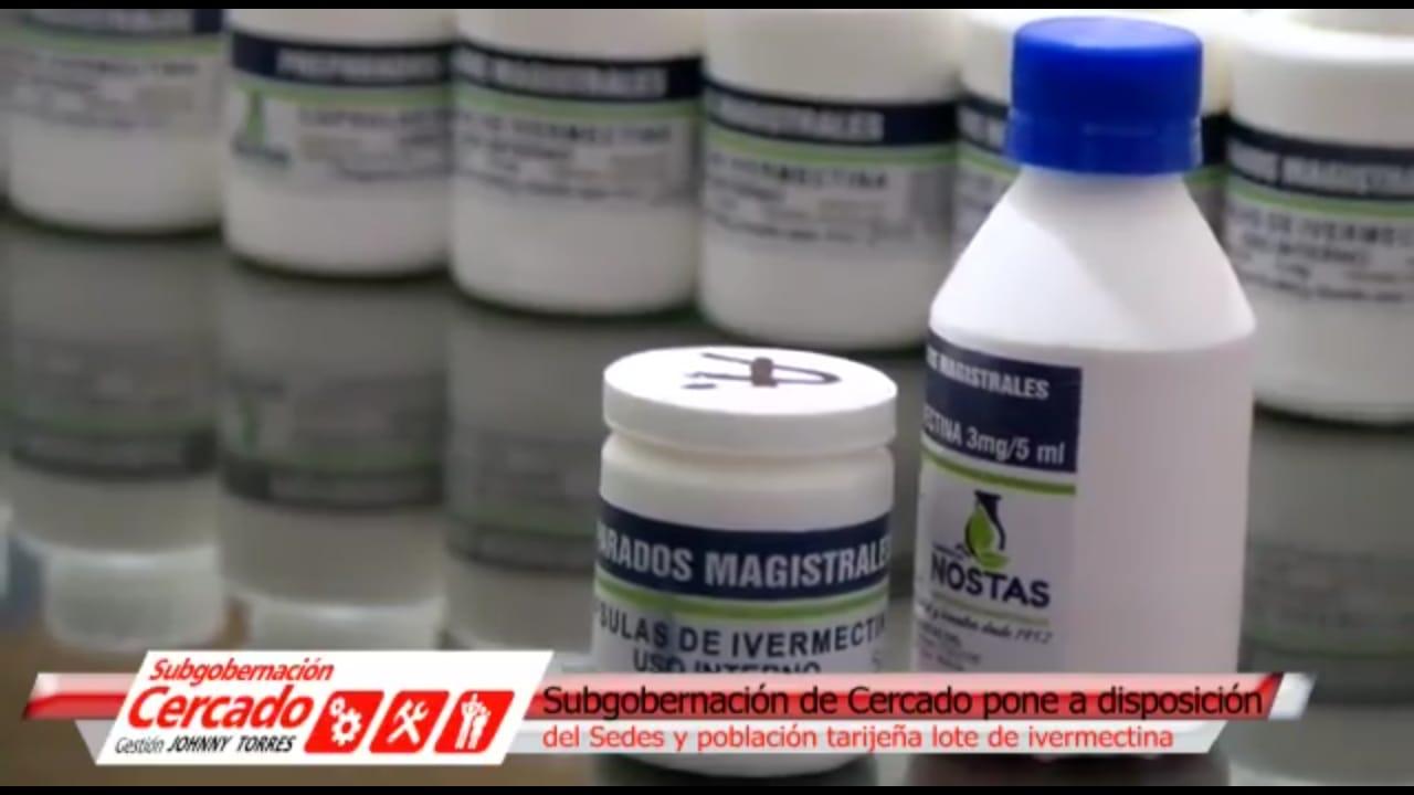 Arrestan a dos personas por venta de ivermectina con precio sextuplicado