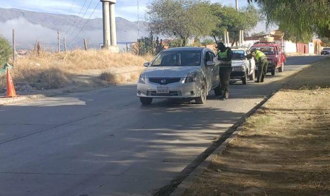 Policía arresta a 7 personas y emite 57 boletas a los que no acatan la cuarentena en Tarija