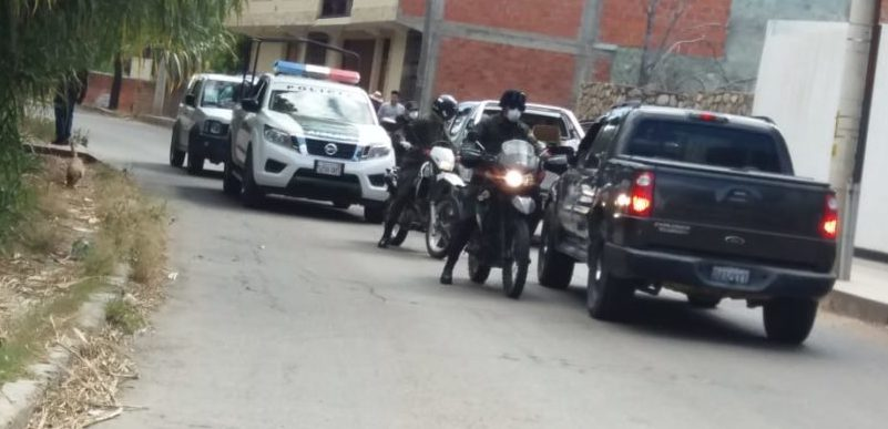 La Policía Boliviana atendió cuatro hechos sobresalientes en el departamento de Tarija
