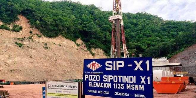 Pino: Potencial del pozo Sipotindi en Chuquisaca supera las expectativas