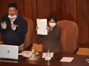 La Asamblea Legislativa rechaza observaciones de la Presidenta Áñez y promulga Ley para la realización de elecciones en 90 días