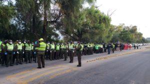 Policía y FFAA despliegan casi 500 efectivos para hacer cumplir la cuarentena estricta en Tarija