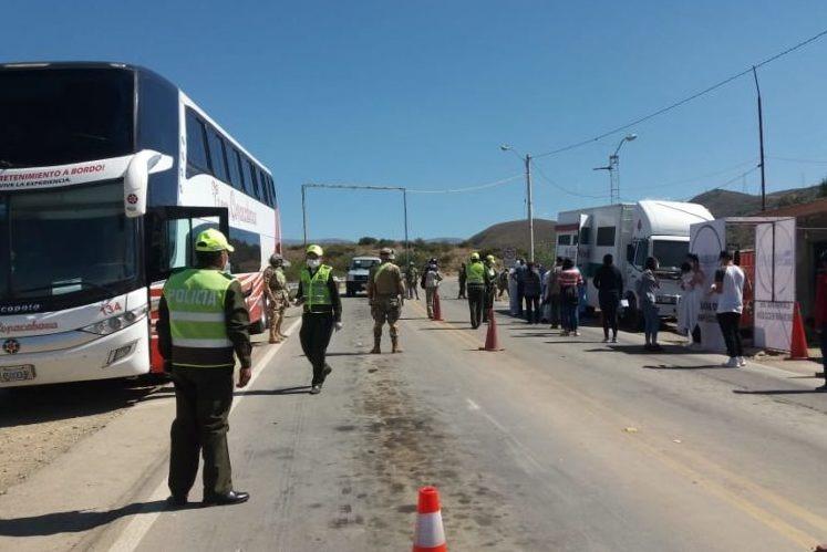 Patrulla Caminera de Tarija reporta en el ingreso de más de 500 personas en los últimos 20 días