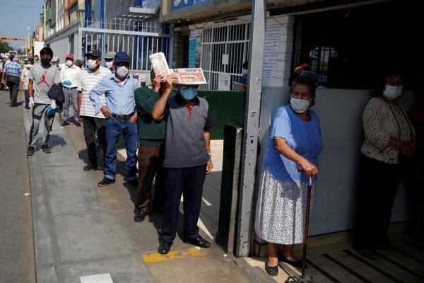 Perú volvió a registrar más de 100 muertos y 4.000 contagiados de coronavirus en un día