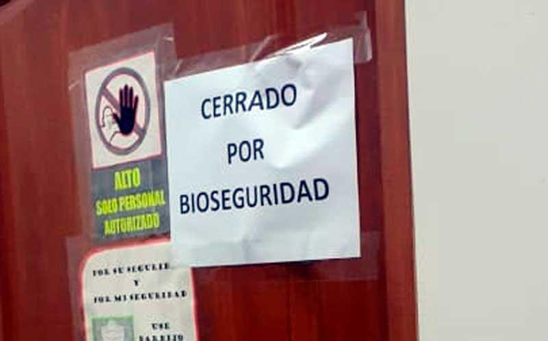 Precintan un ambiente del Legislativo por sospecha de contagio de coronavirus