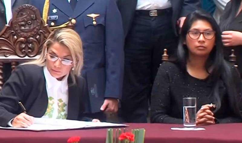 Constitucionalistas: En caso de ausencia de Añez, Copa asumiría la Presidencia