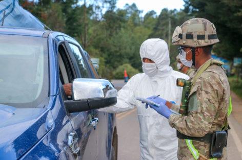 El Ministerio de Defensa reporta 503 militares contagiados con COVID-19