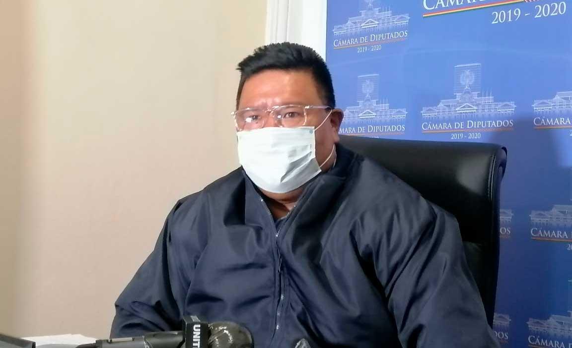 Choque prevé reunión del binomio ganador del MAS con Mesa y Camacho