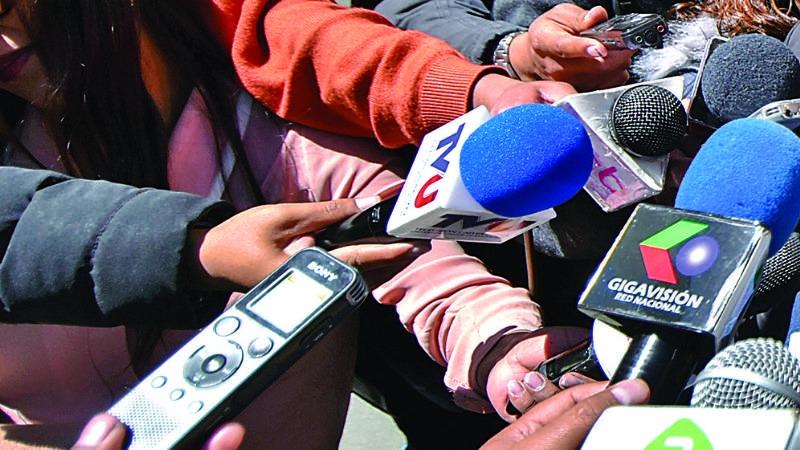 Prensa de Tarija expresa su solidaridad con Júnior Arias, tras