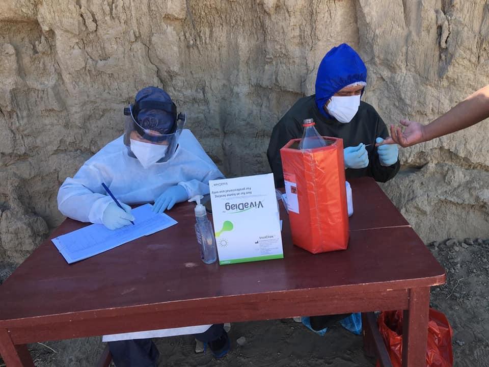 Más de 80 niños en el departamento de Tarija están contagiados con coronavirus