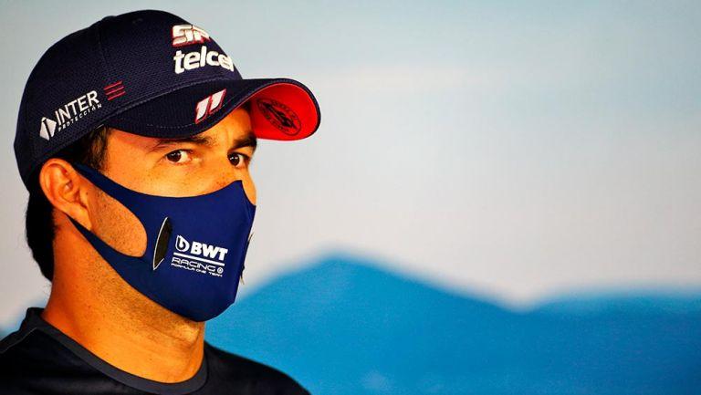 """Fórmula 1: Checo Pérez está aislado por """"prueba no concluyente"""" de COVID-19"""