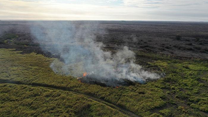Tras fuego en Otuquis, Conade urge al Gobierno a anular normas incendiarias