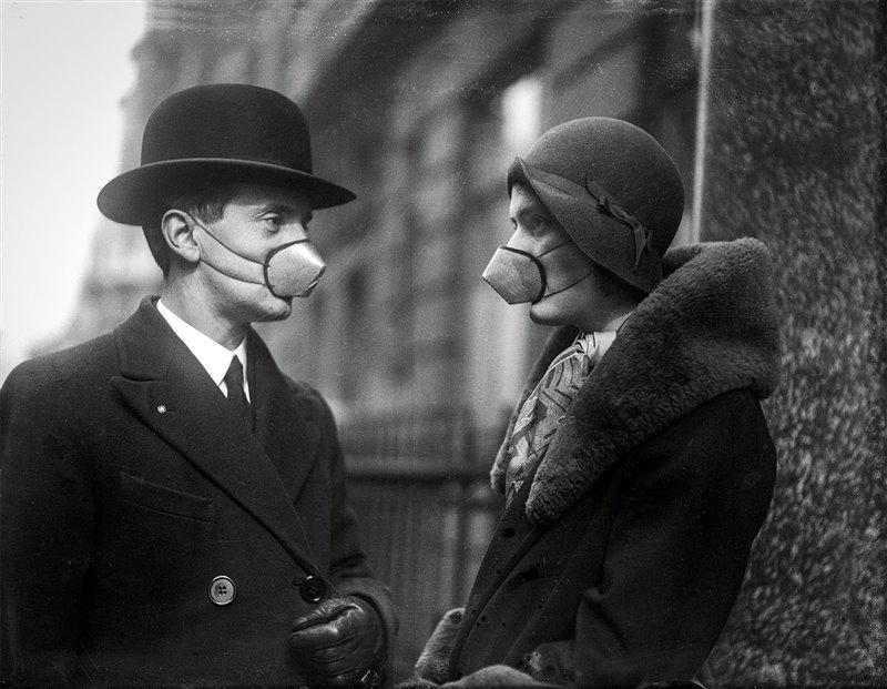 Cómo cambió el mundo después de la gran pandemia de 1918: boom de bebés, auge del espiritismo, prosperidad y cultura nudista