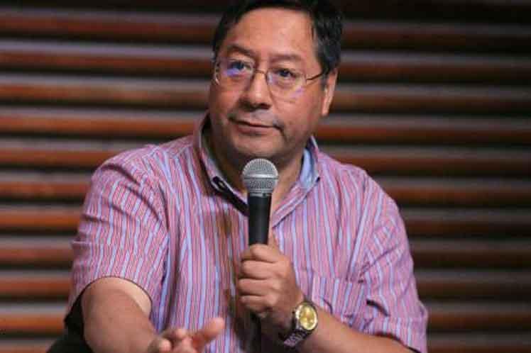 Luis Arce estima que el país puede salir de la crisis económica en uno a dos años