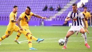 Barcelona gana en un partido deslucido ante el Valladolid, y mete presión al Real Madrid