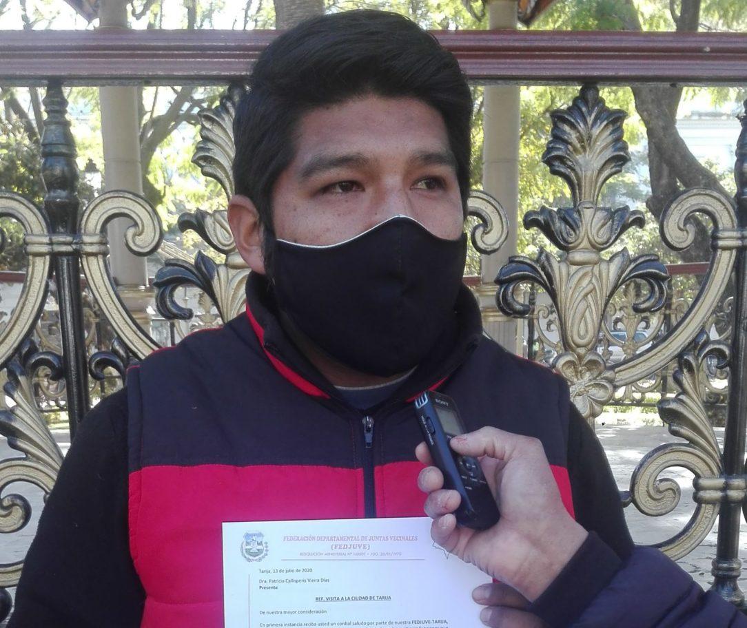 Fedjuve gestiona la llegada de Patricia Callisperis a Tarija para implementar el uso del dióxido de cloro