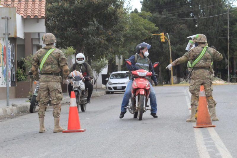 COED explica que militares concientizarán sobre las medidas de bioseguridad en Tarija