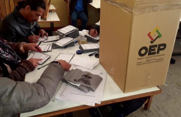 Diputado de Tarija asegura que las Elecciones Nacionales del 6 de septiembre