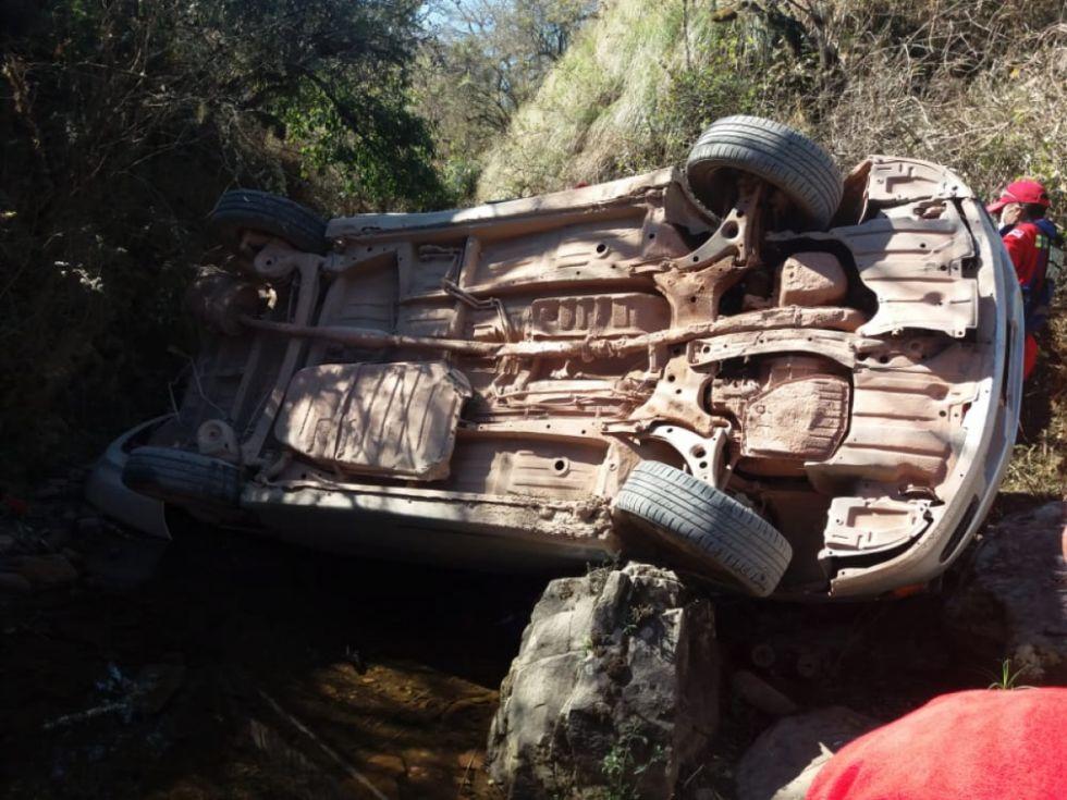 Accidente de tránsito deja tres fallecidos en carretera Yacuiba- Tarija