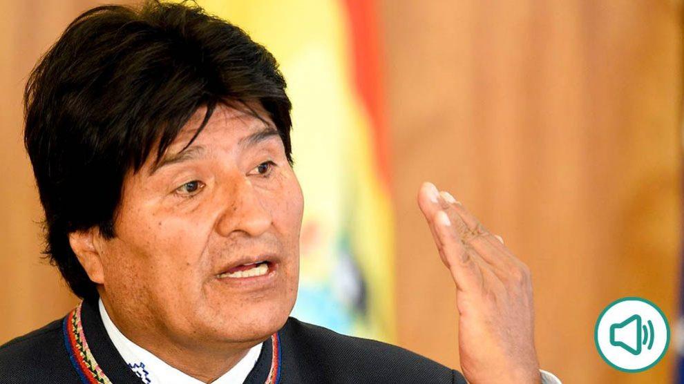 Evo Morales se niega a aclarar si mantuvo una relación con una menor: «Yo no hablo de esas cosas»