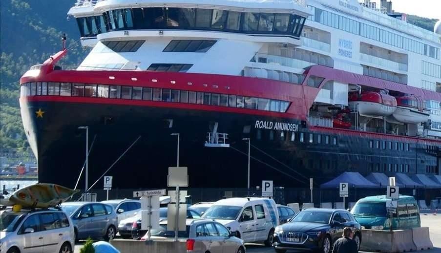 Al menos 33 miembros de la tripulación de un crucero en Noruega dan positivo al coronavirus