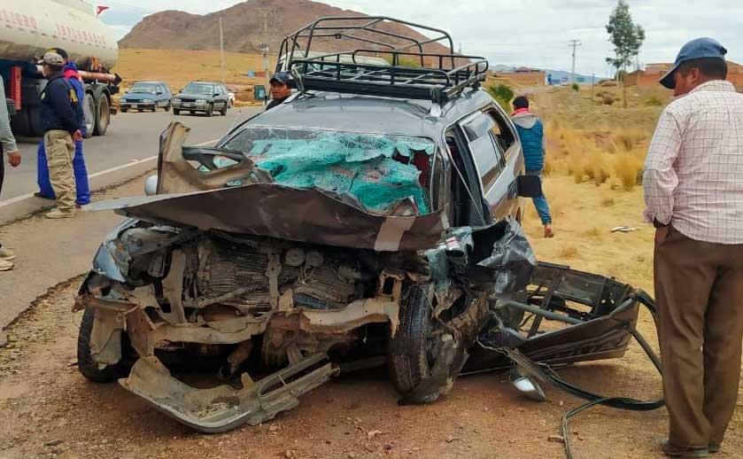 Niño de 10 años conducía vehículo que se estrelló de frente con un camión