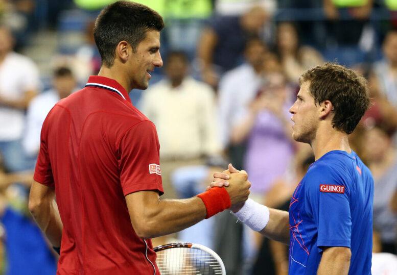 Schwartzman no pudo con Djokovic y perdió en el debut en elNovak Djokovic