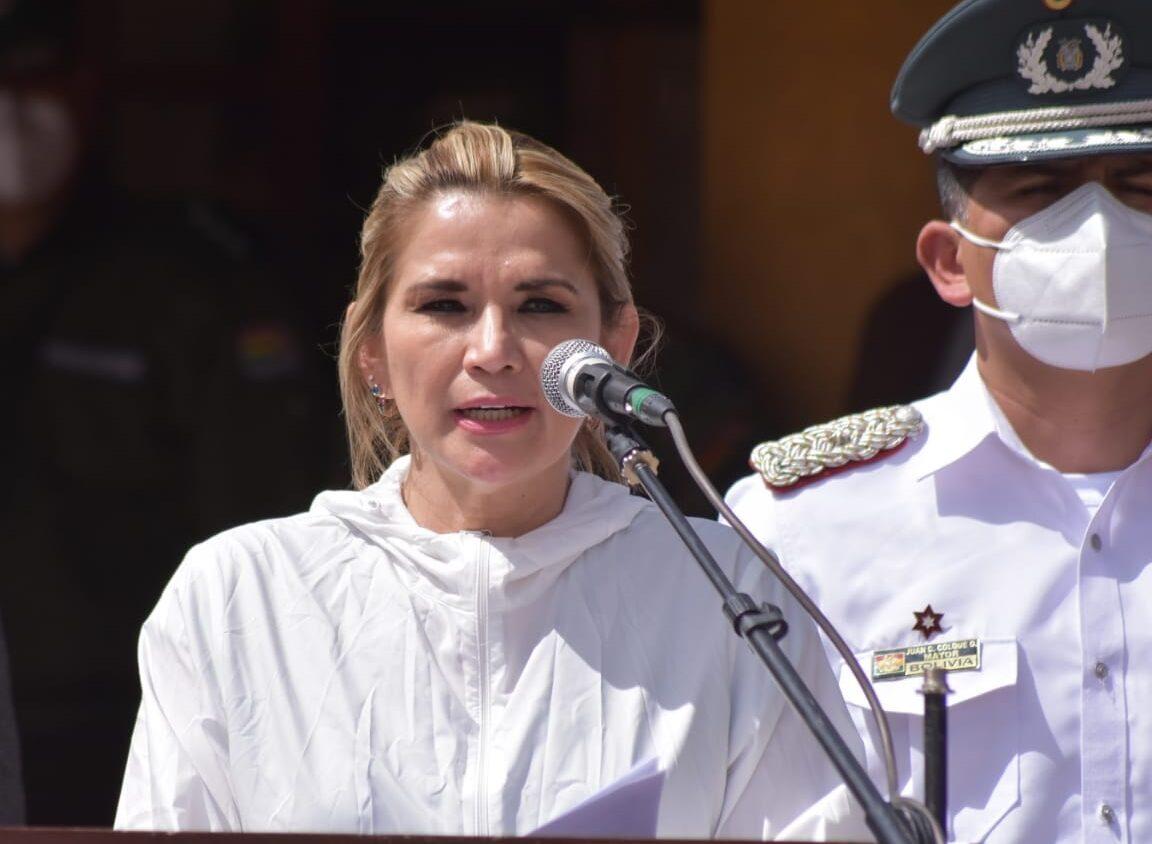 Comunidad Ciudadana del Chaco señala que Jeañine Añez realiza su campaña