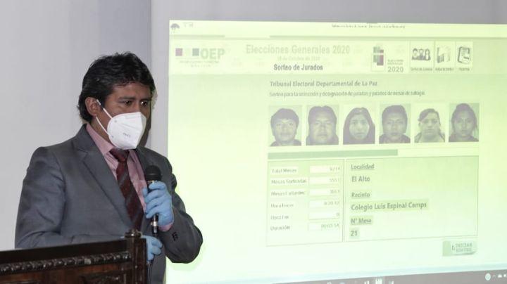 El Órgano Electoral eligió por sorteo a 213.600 jurados para los comicios del 18 de octubre