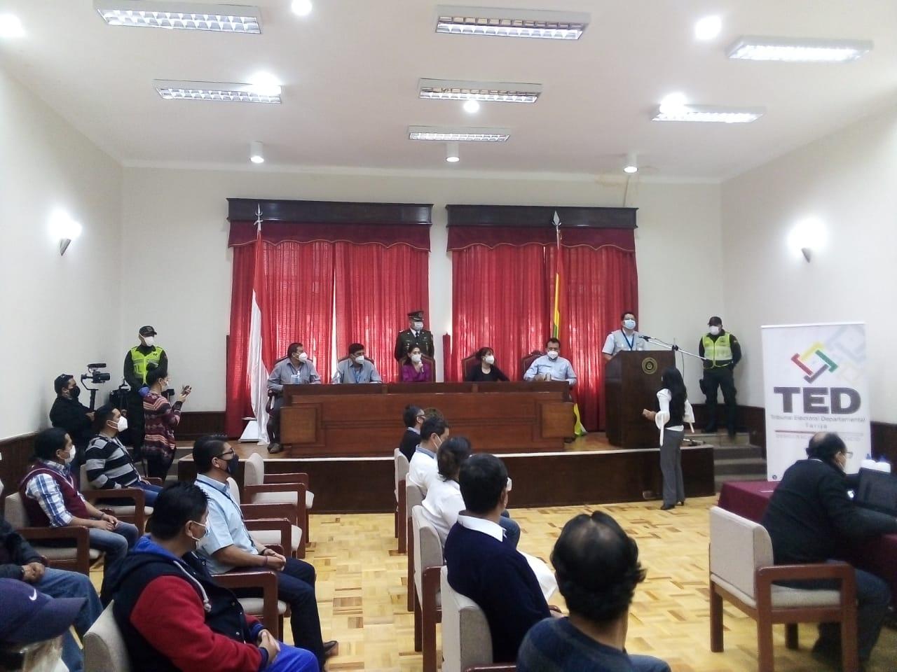 Más de 11.000 ciudadanos en Tarija son seleccionados para ser jurados electorales