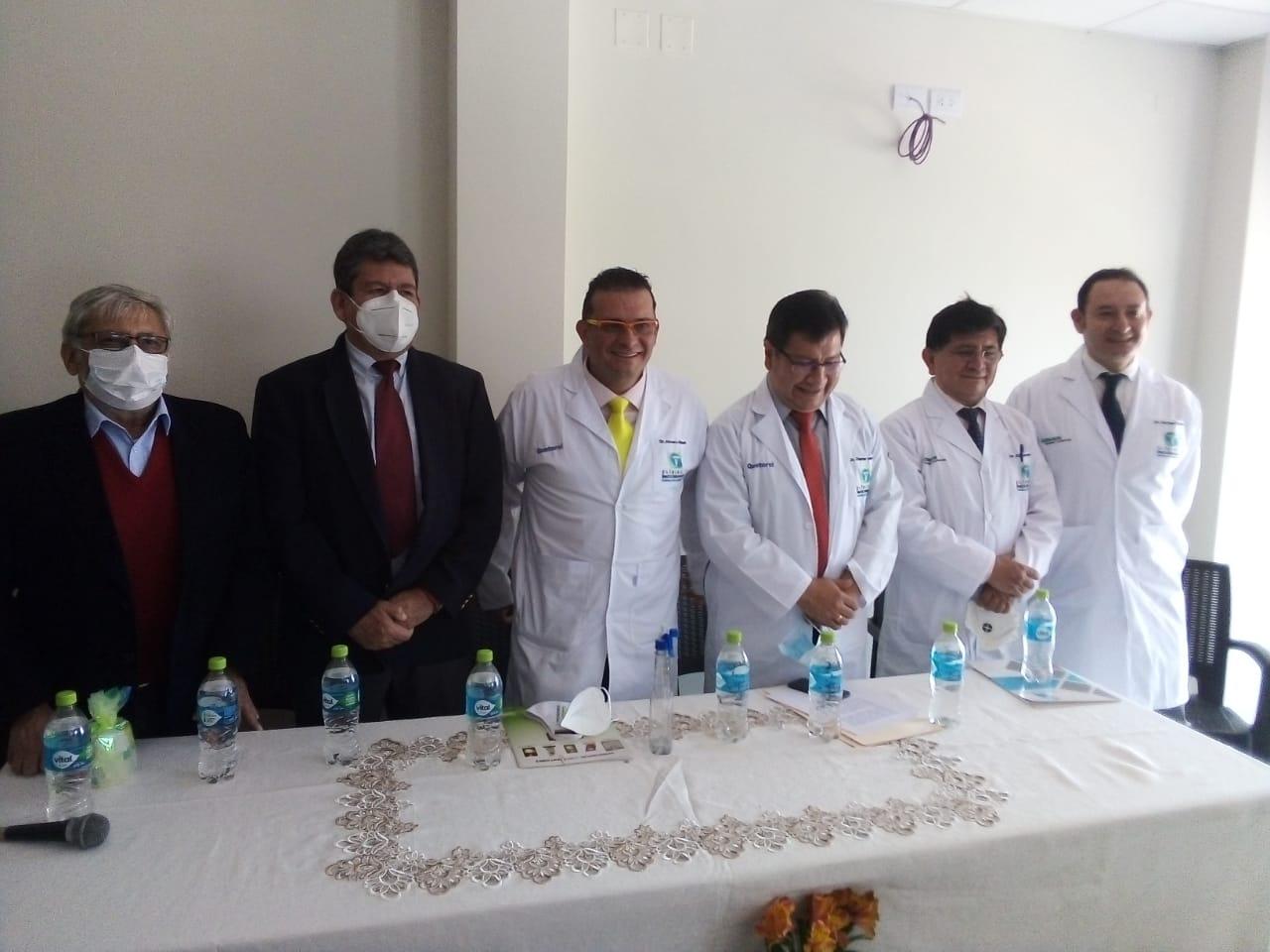 Innovación y tecnología, inauguran la clínica Nuestra Señora de Lucía y Prostacheck en Tarija