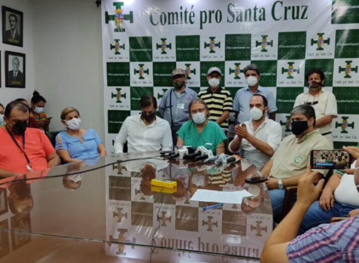 Cívicos convocan a asamblea de la cruceñidad el 2 de agosto por el caso fraude electoral