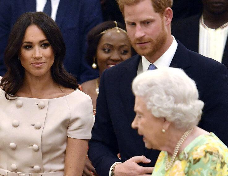 La drástica medida que tomaría la reina Isabel II respecto al príncipe Harry y Meghan Markle
