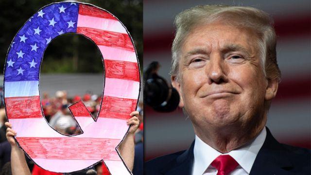 Las teorías de la conspiración se apoderan de la campaña en Estados Unidos: QAnon, el peligroso grupo que celebra