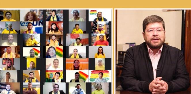 Unidad Nacional se define y llama a emitir voto útil por Carlos Mesa