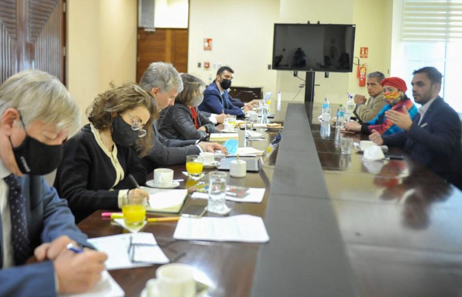 Ministros se reúnen con expertos de la CIDH que investigan los hechos de violencia de 2019