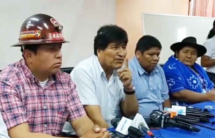 Evo Morales anuncia que nuevas generaciones tendrán oportunidad para ser candidatos