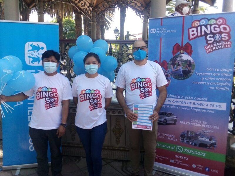 Aldeas Infantiles invita a la población de Tarija a participar del Bingo SOS