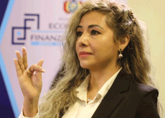 Karina Serrudo es la nueva Presidenta de la Aduana Nacional