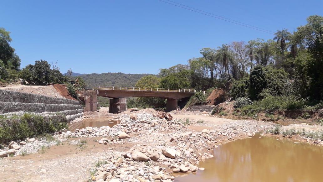 Tarija: ABC habilita el paso vehicular por el Puente San Telmo