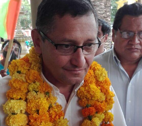 Oscar Montes asegura que su alianza tiene el apoyo del 90% de la clase política de Tarija