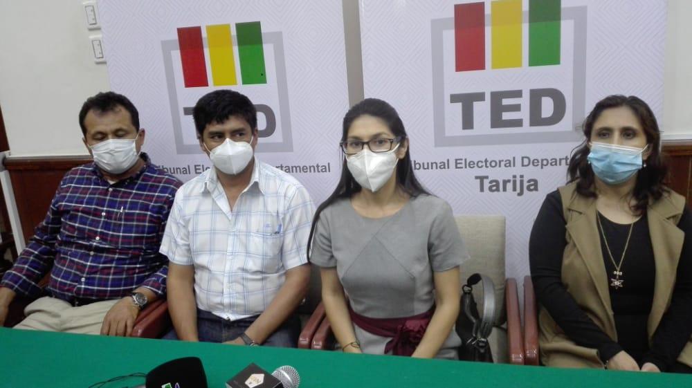 TED de Tarija garantiza la cadena de seguridad del material electoral para las subnacionales