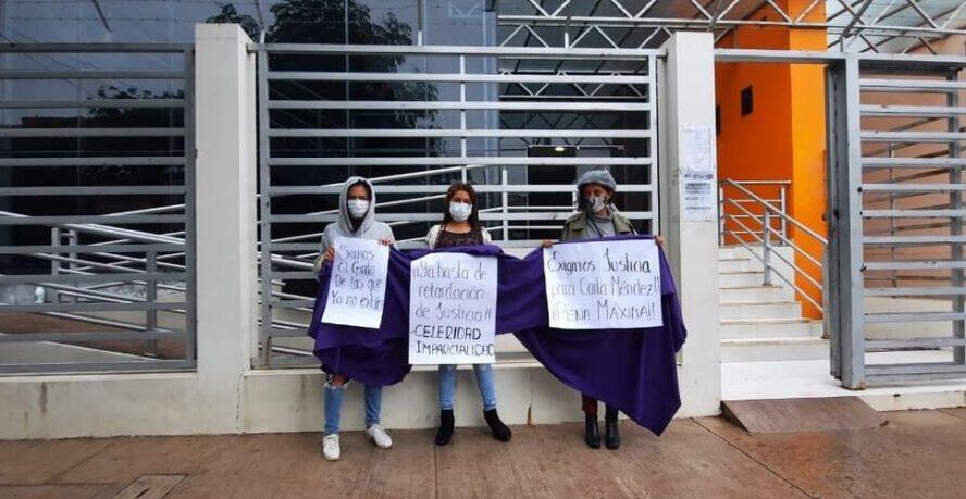 Suspenden para el viernes reinicio del juicio de feminicidio de Carla Méndez en Bermejo