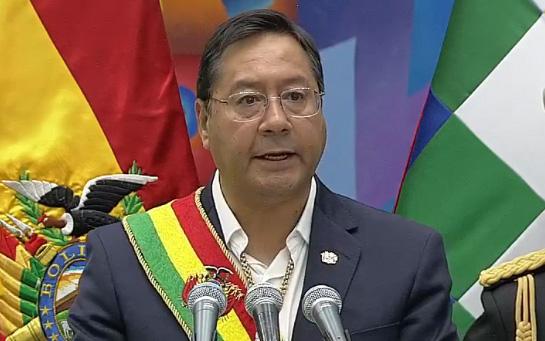 Luis Arce promete justicia sin venganza y enfrentar a la pandemia sin afectar la economía