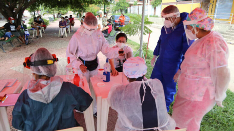 Santa Cruz: Municipio de La Guardia aplicará 5.000 pruebas de antígeno nasal  - La Voz de Tarija