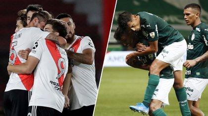River va por la hazaña ante Palmeiras en Brasil para acceder a la final de la Copa Libertadores