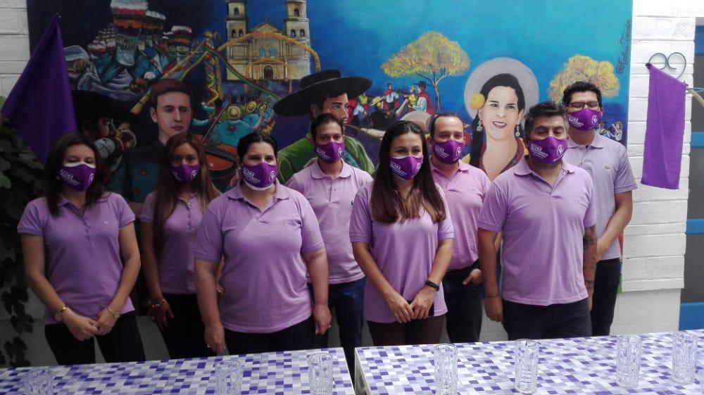 """Agrupación """"Basta"""" de Tarija presenta sus candidatos a concejales, destaca Enriqueta Ulloa y Ernesto Vaca"""