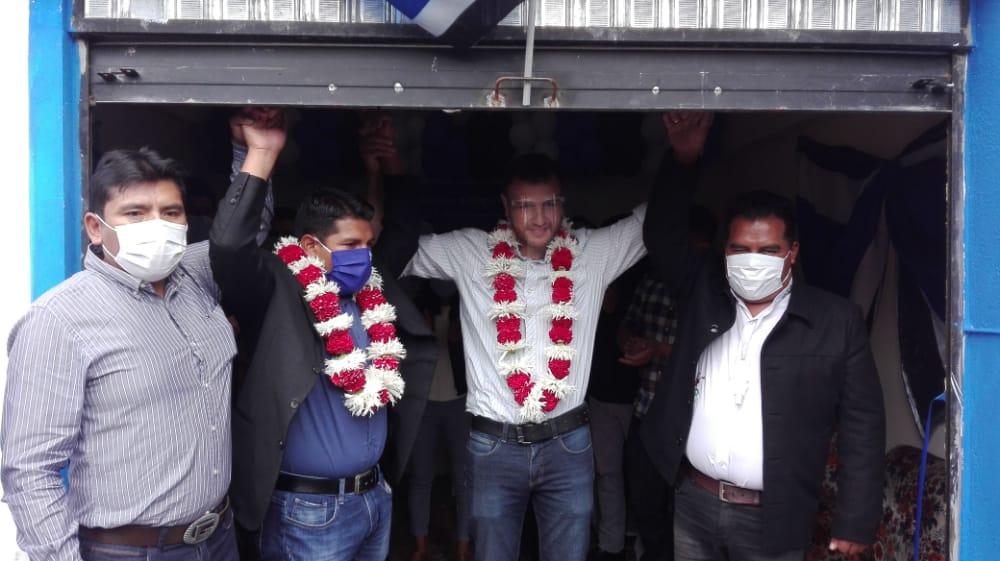 MAS de Tarija inaugura oficina jurídica gratuita para asistir legalmente a personas de escasos recursos